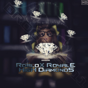 ROBLOX ROYALE HIGH - (150k-1M) DIAMONDS - CHEAPEST PRICES! (Read Description!)