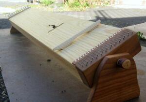 Monochord 140cm - mit Schwenk-Füßen - günstig und robust - von Spiritsoundart