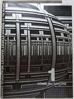 COMME des GARCONS 2016 S/S Booklet 1 Pamphlet Flyer Art Paper Rare Book Japan FS