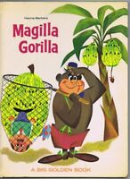 ORIGINAL Vintage 1964 Magilla Gorilla Golden Book Hanna Barbera