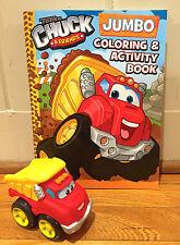 "Jumbo Tonka Chuck & Friends Coloring & Activity Book,+ 4"" Chuck The Dump Truck"