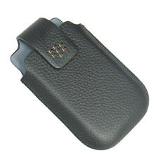 Original Blackberry Curve 8520 8530 Leather Holster Case w Swivel Belt Clip NEW