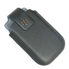 Original Blackberry Curve 8520 8530 Leather Holster Case w Swivel Belt Clip NEW
