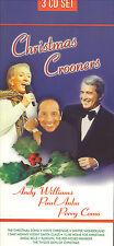 ANDY WILLIAMS-PAUL ANKA-PERRY COMO - CHRISTMAS CROONERS - MINT 3 CD LONG BOX SET