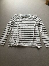 Madewell ladies stripe long sleeved top, size L. New