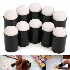 Finger Sponge Case Daubers Painting Ink Stamping Chalk Reborn Art Tools Lot