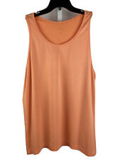 Lululemon Men's Tank Top Xl Orange Sleeveless Athletic Stretch Vent Tech Shirt
