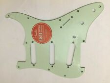 Lime Green 3-Ply Fender Squier Stratocaster Guitar Pickguard- Classic Vibe Strat