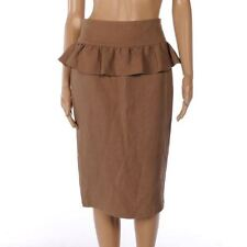 Linen Straight, Pencil Regular Size Skirts for Women