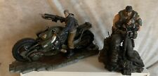 Gears of War 4 Collector's Edition J.D. Fenix Statue Used With Marcus Statue