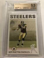 2004 Topps Ben Roethlisberger Rookie BGS 9.5 #311 Steelers RC
