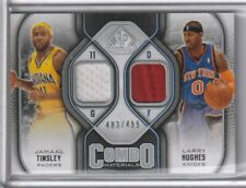 Jamaal Tinsley/Larry Hughes 2009-10 SP Combo Materials Jerseys 483/499