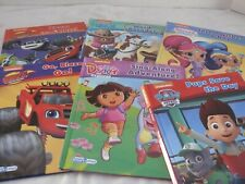 Nickelodeon - Smart Pad - Eight Books--Word Parade, Three Wishes a Day, Rescue 1