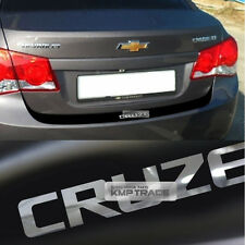 Rear Bumper Protector Decal Sticker Matt Black For CHEVROLET 2008-14 Cruze Sedan