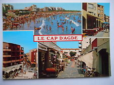 """CPM """"Le Cap d'Agde - De la plage du Môle à la place de l'Europe"""""""