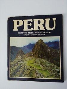 PERÚ (libro guía turística) primera edición 1979