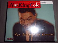 NAT KING COLE For Sentimental Reasons Jazz 2CD 36 Tracks NEU+foliert!!!