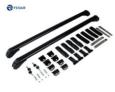 "Fedar 40"" Universal Roof Rack Cross Bar Cargo Carrier w/ Anti-theft Lock System"