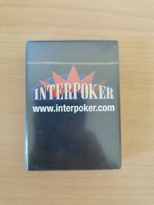 Interpoker playing Cards New and Sealed