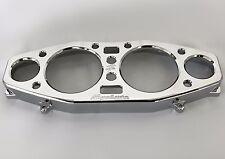 99-04-07 Hayabusa Custom Engraved Chrome Speedometer Gauge Cluster Bezel Cover!