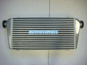 """FMIC Aluminum Intercooler Universal 24""""x12""""x3"""" 600 x 300 x 76mm 3"""" Inlet/Outlet"""