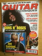 Guitar Techniques magazine et CD, mai 1998
