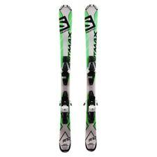 Mini Ski occasion Salomon short max + fixations - Qualité A - 120 cm