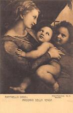 R188291 Raffaello Santi. Madonna Della Tenda. Postcard
