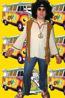 199✪ Hippie Herren Kostüm Woodstock 60er 70er Jahre Festival Schlagermove 50 52