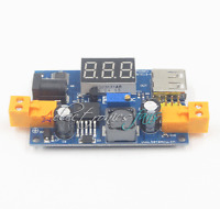 LM2596 DC Buck Converter Step-Down Power Modul+LED Voltmeter 1.25-37V