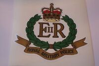 "2 X ROYAL MILITARY POLICE  HM ARMED FORCES  STICKERS  4"" BRITISH ARMY"