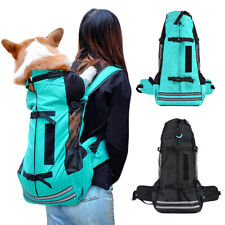 Large Pet Carrier Backpack for Hiking Bike K9 Dog Outdoor Sport Travel Bag Crate