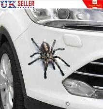 3D Spider Voiture Autocollant Graphique,, Décalcomanie, Pare-chocs, animal, EFFRAYANT, Farce-Vendeur Britannique