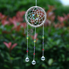 Hanging Rainbow Suncatcher Crystal Ball Prism Dreamcatcher Pendulum Pendant 20mm