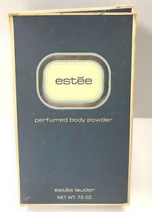Vintage1970s Sealed Estee Lauder ESTEE Perfumed Body Powder 7.5 Oz New in Box