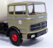 Brekina: Mercedes1620 Tankwagen Rundtank Hoyer - 81043