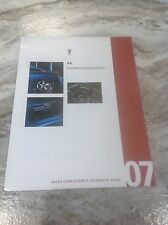 2007  Pontiac G6 Salesman reference guide competitive comparision