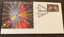 1985 Electronic Mail Australian Fdc Melbourne Vic