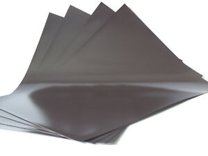 Magnétique Feuilles Flexible 0.5mm Épais A4 X 4 - Parfait Pour Spellbinder Dies