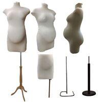 ❤ Pregnant Maternity Female Tailor Tailors Mannequin Dummy Dressmakers Fashion