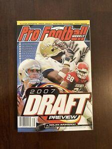 Pro Football Weekly 2007 Draft Preview by Nolan Nawrocki