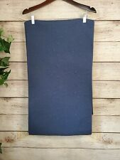 """WILLIAMS-SONOMA BOUTIS QUILTED TABLE RUNNER - 16"""" X 108"""" - Navy Blue"""