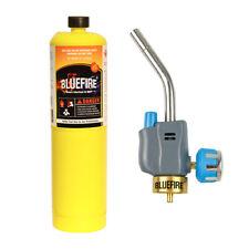 Bluefire Trigger Start Gas Welding Propane Torch Kit W Mapp Map Brazing Solder