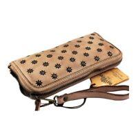 Portafoglio borchiato in pelle vintage made in Italy Bayside art. P 14 col. vari