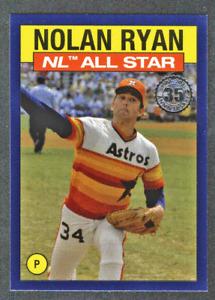 2021 Topps Series 2 Blue Parallel 1986 All-Star Nolan Ryan Houston Astros 1:297