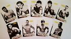 4LUVofBOXING 2017 Boxing 9 Card Set Limited Print Ali Tyson Pacquiao Duran Bhop