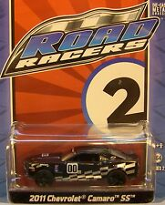 GREENLIGHT COLLECTIBLES 1:64 SCALE DIECAST METAL BLACK 2011 CHEVROLET CAMARO SS