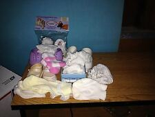 Five Pair Doll'S Socks-Five Pair Doll'S Shoes-Some Still In Packaging-c2