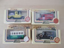 4 x Lledo Days Gone - Vans, London Country Bus, Crow Carrying Tanker - Boxed
