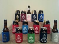 Fathers Day/Birthday Various Designs, Can/ Beer Coolers, Any 3 for £10!!